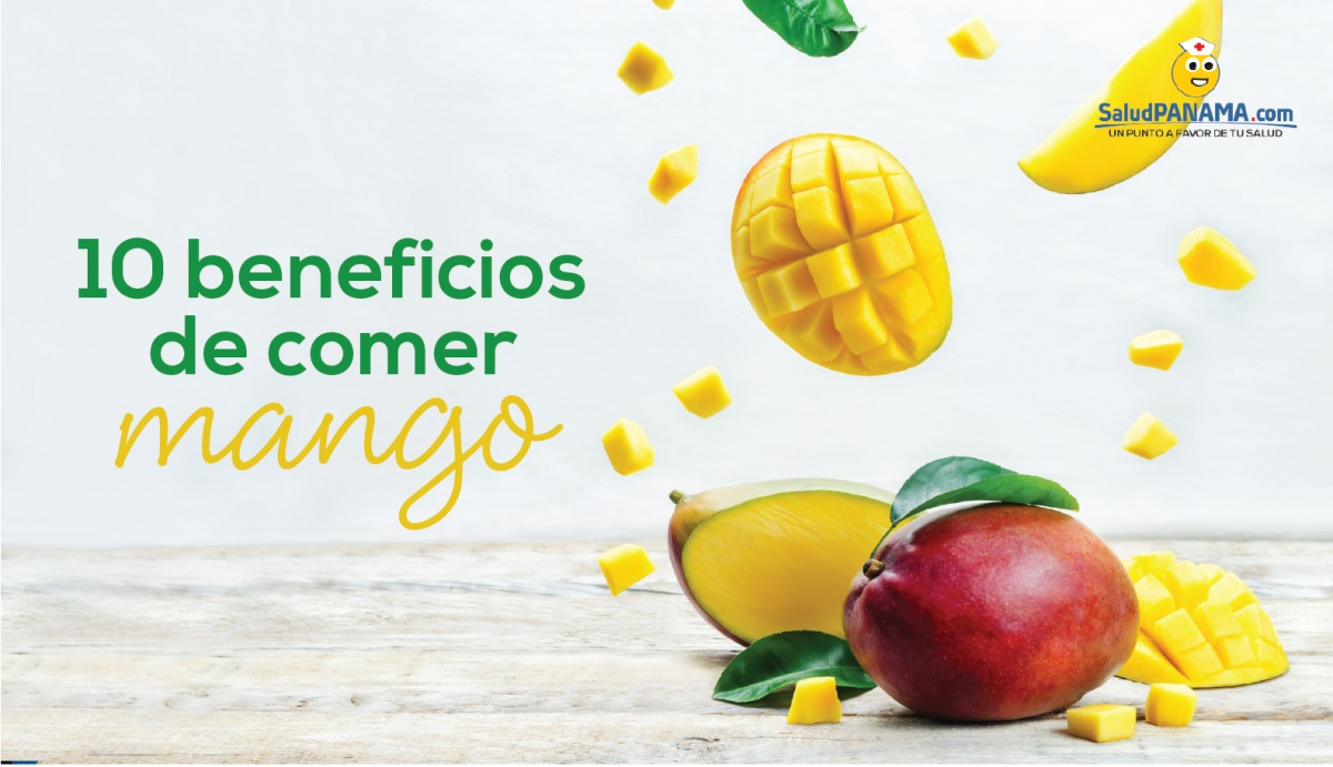 10 beneficios de comer mango