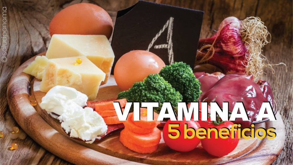 Vitamina A: 5 beneficios