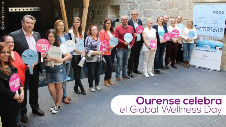 Ourense celebra el Global Wellness Day
